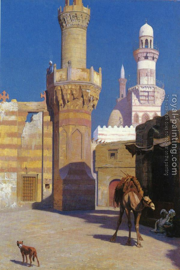 Jean-Leon Gerome : A Hot Day in Cairo (front of the Mosque)