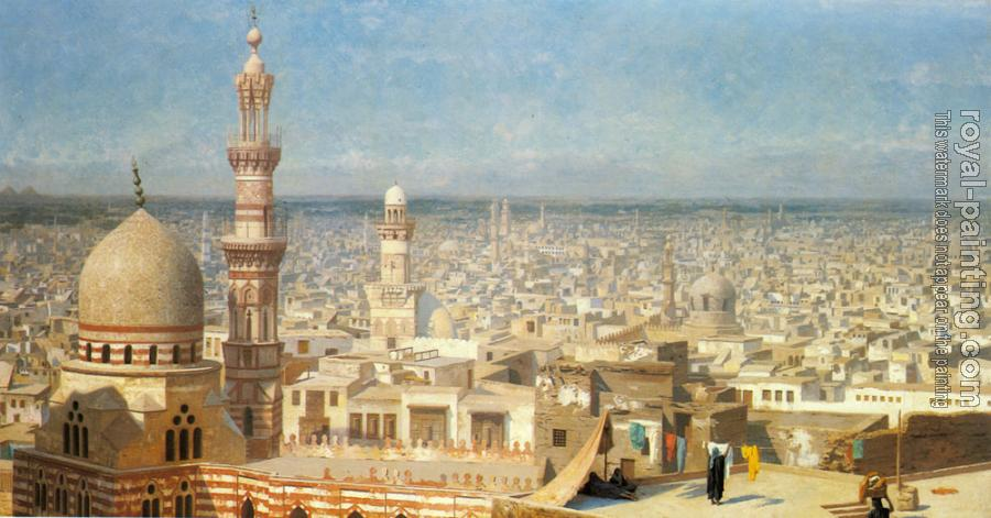 Jean-Leon Gerome : View of Cairo