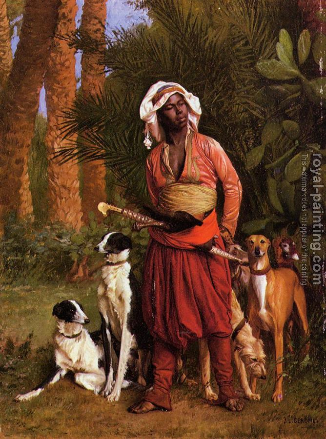 Jean-Leon Gerome : The Negro Master of the Hounds