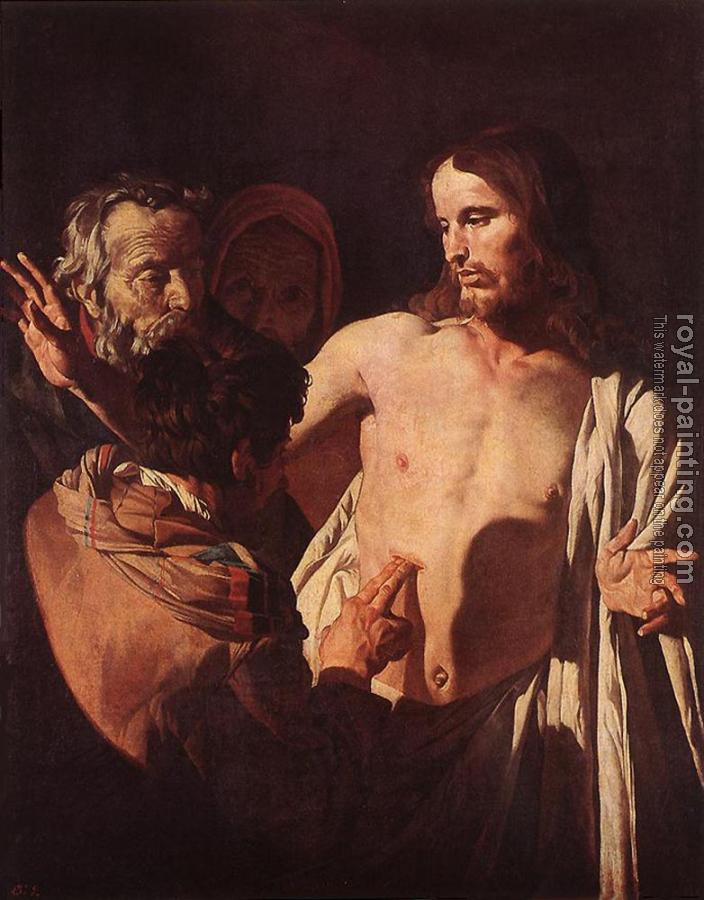 Gerrit Van Honthorst : The Incredulity Of St Thomas