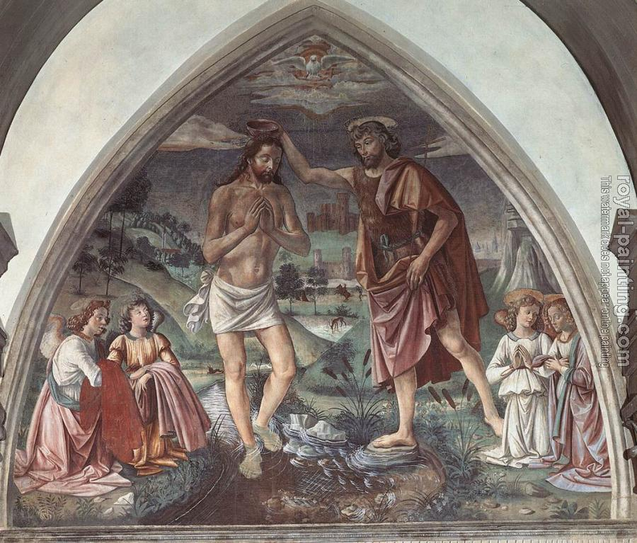 Domenico Ghirlandaio : Baptism of Christ II