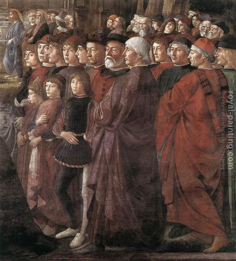 Domenico Ghirlandaio : Calling of the First Apostles detail II