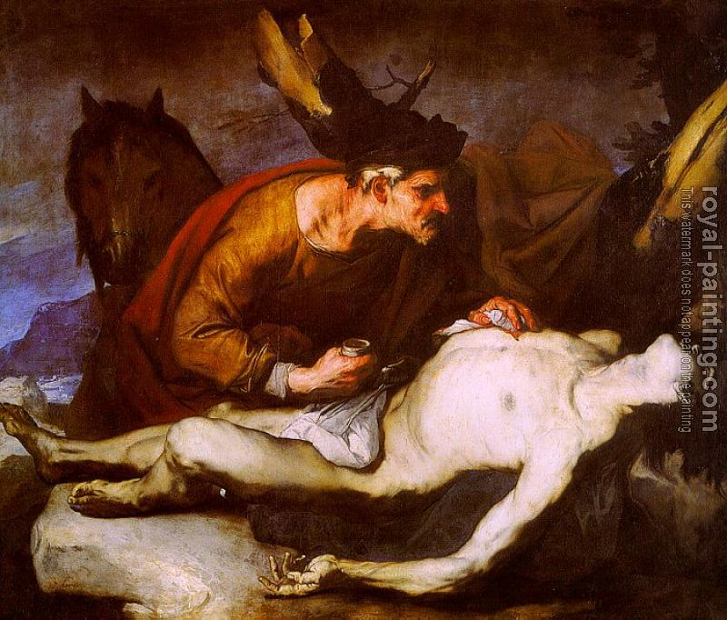 Luca Giordano : The Good Samaritan