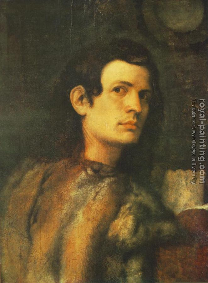 Giorgione : Portrait of a Young Man