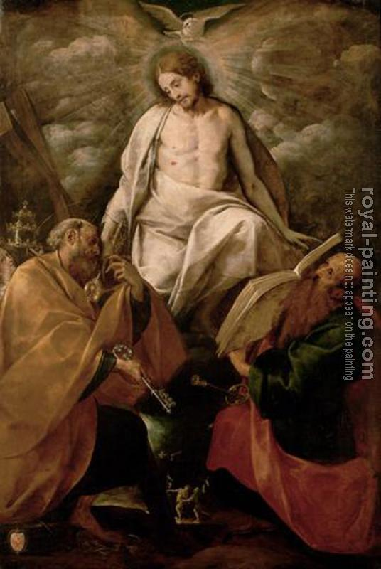 Giovanni Battista Crespi : Christ Appears to the Apostles Peter and Paul