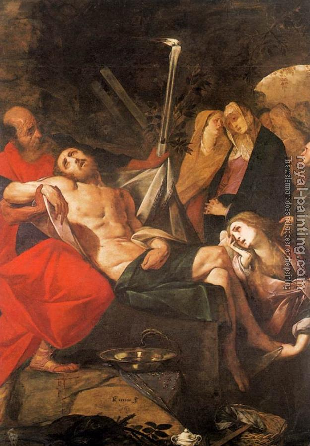 Giovanni Battista Crespi : Entombment of Christ