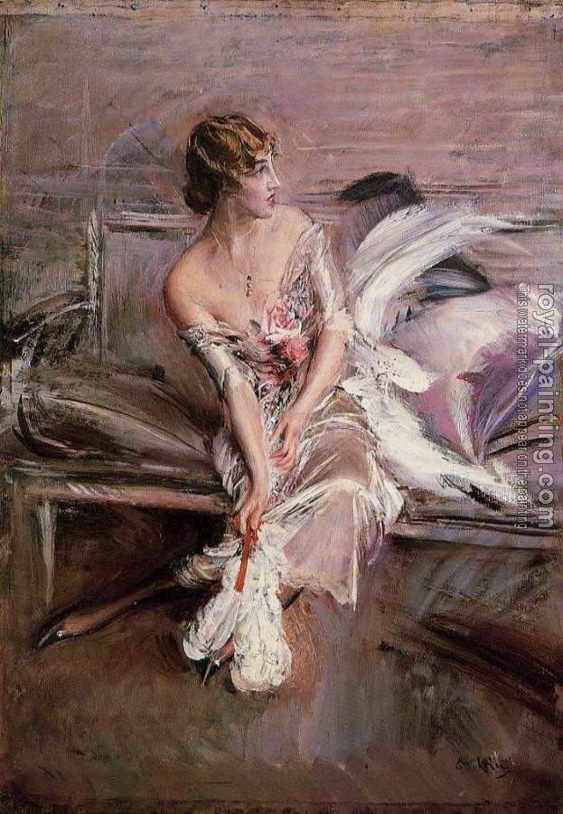 Giovanni Boldini : Portrait of Gladys Deacon