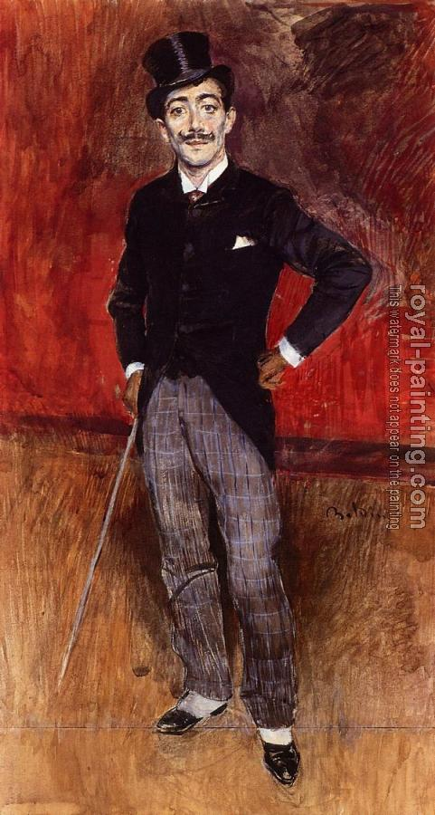 Giovanni Boldini : Portrait of the Comte de Rasty