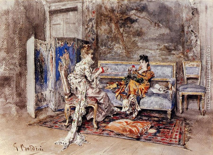 Giovanni Boldini : The Conversation