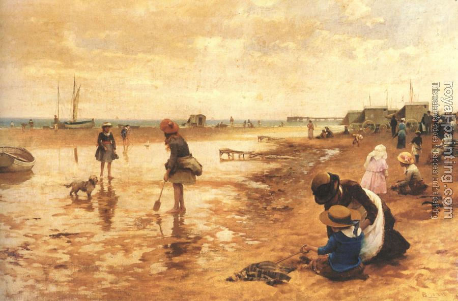 Alfred Glendening : A day at the seaside