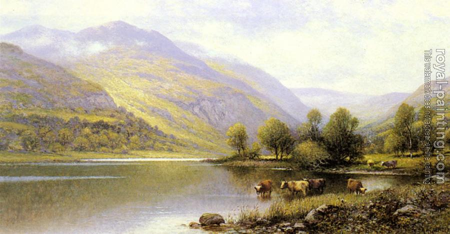 Alfred Glendening : Near Capel Curig, North Wales