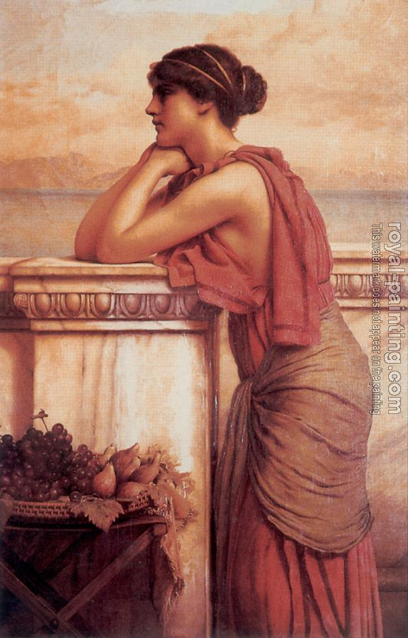 John William Godward : By the Wayside