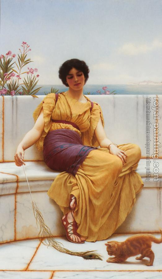 John William Godward : Idleness