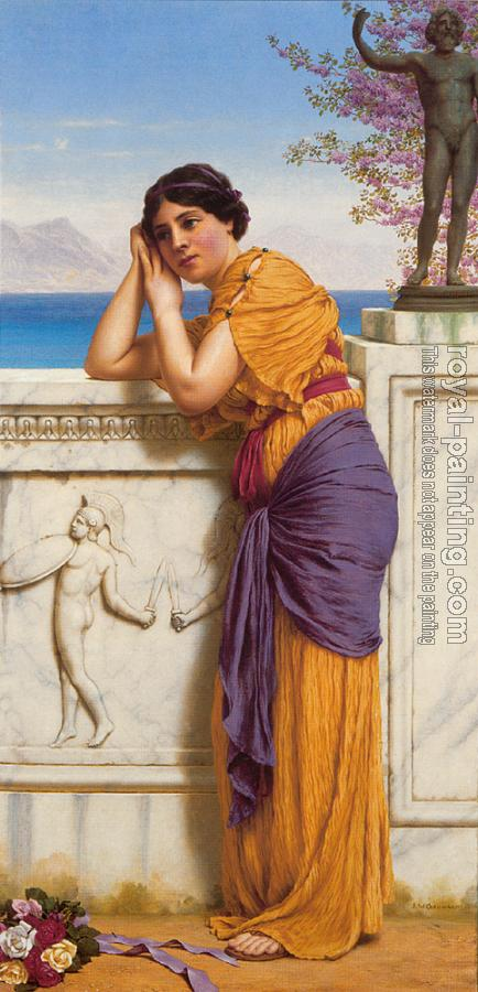 John William Godward : Rich Gifts Wax Poor When Lovers Prove Unkind