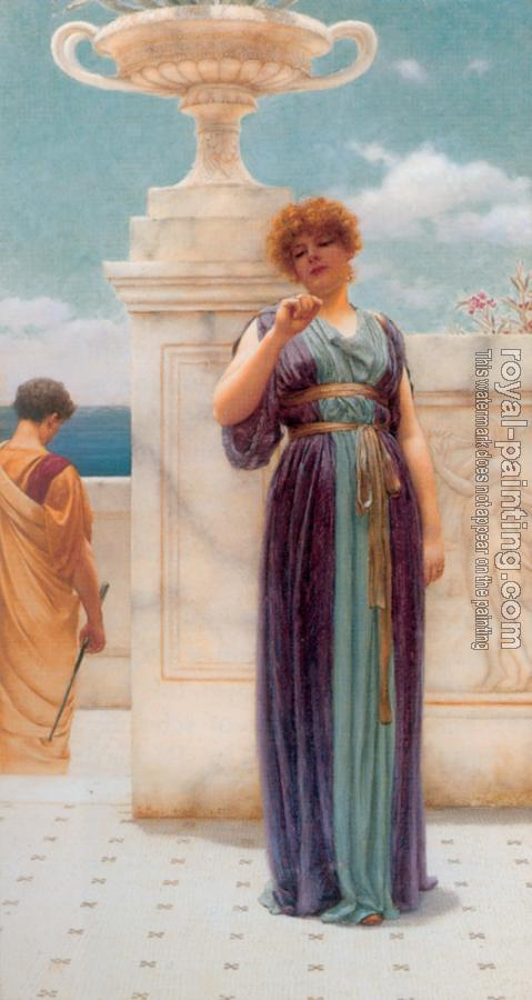 John William Godward : The Engagement Ring