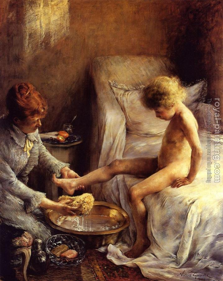 Reine Goeneutte Washing the Young Jean Guerard