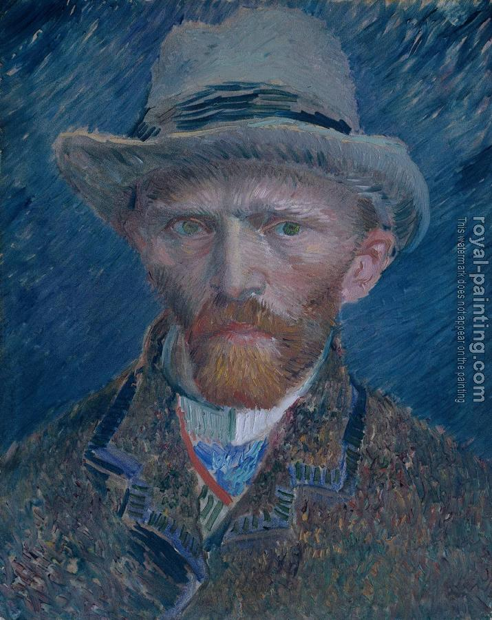 Vincent Van Gogh : Self Portrait, 1887