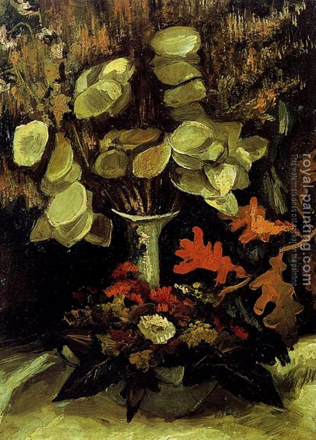 Vincent Van Gogh : Vase with Honesty