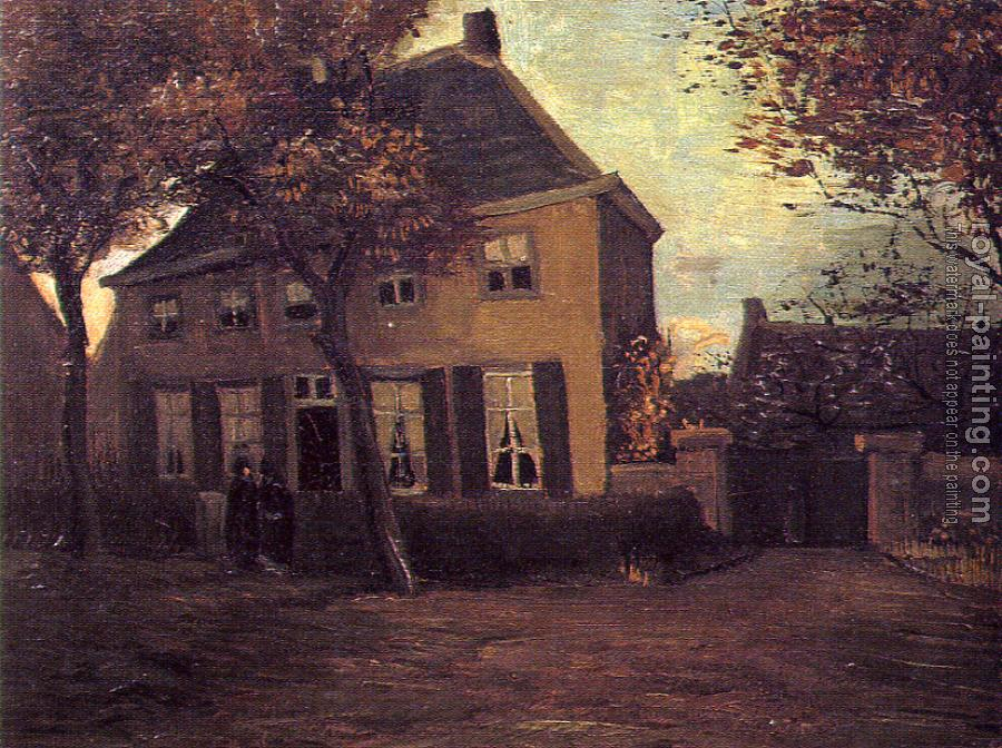 Vincent Van Gogh : The Parsonag at Nuenen
