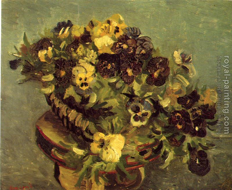 Vincent Van Gogh : Bowl of Pansies