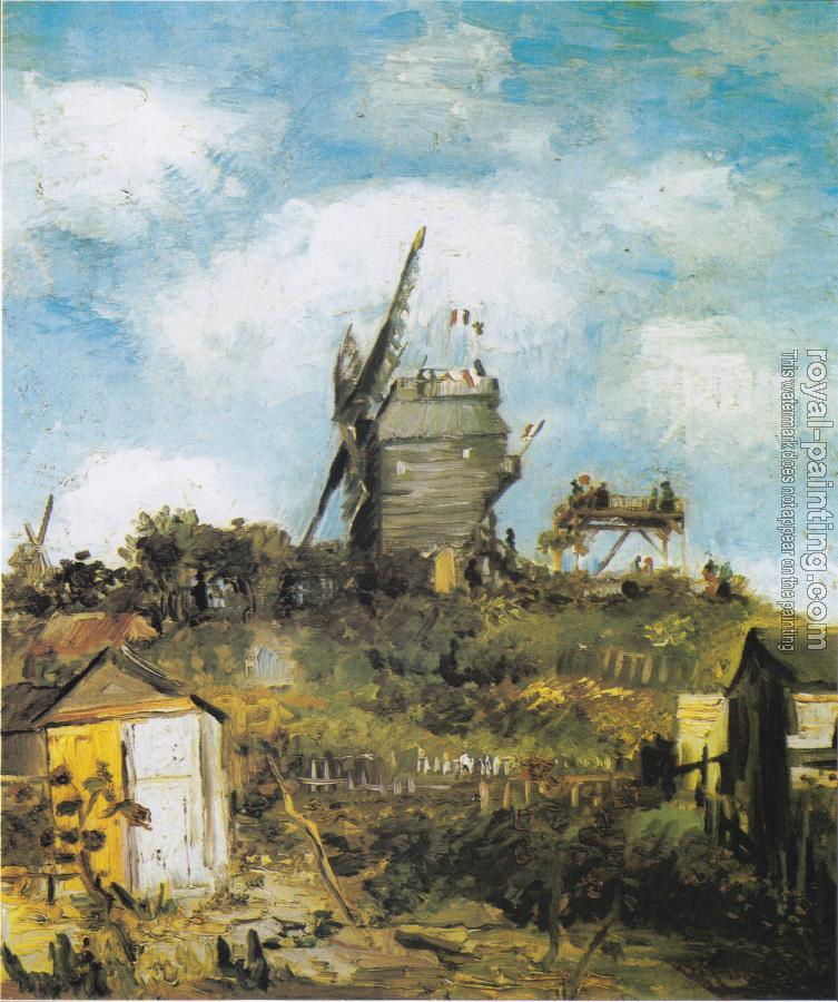 Vincent Van Gogh : The Moulin de Blute-Fin