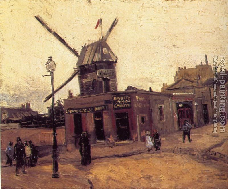 Vincent Van Gogh : The Moulin de la Galette