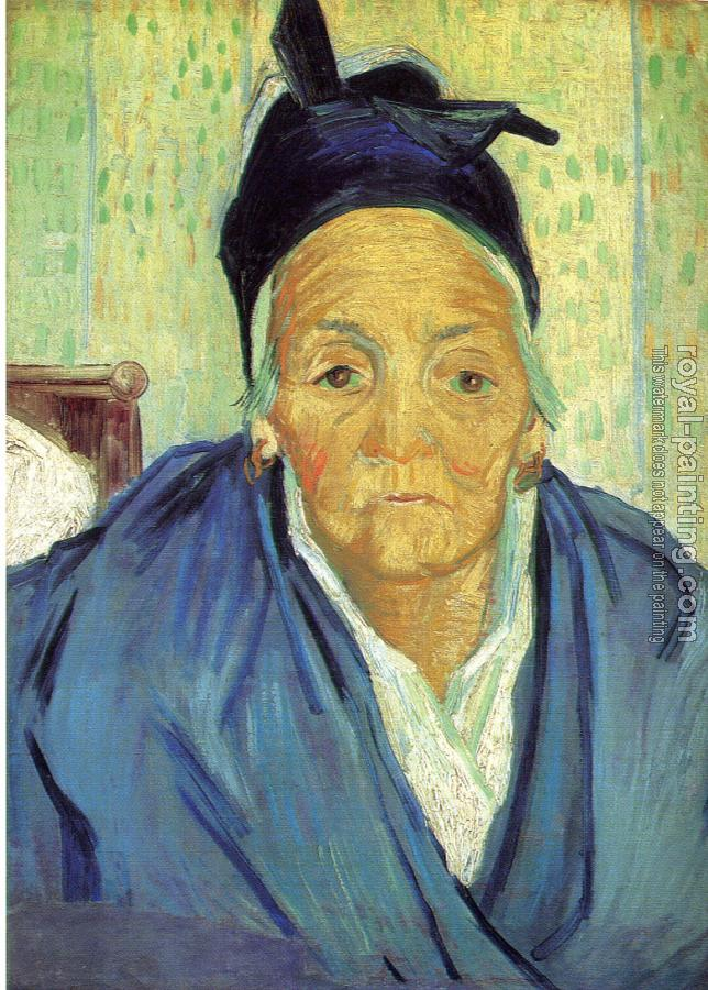Vincent Van Gogh : An Old Woman from Arles