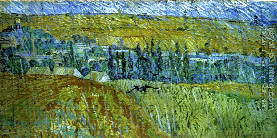 Vincent Van Gogh : Landscape in the Rain