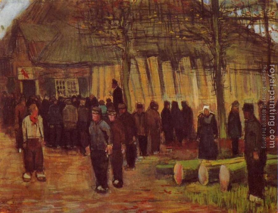 Vincent Van Gogh : A Wood Auction