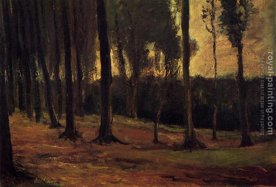 Vincent Van Gogh : Edge of a Wood
