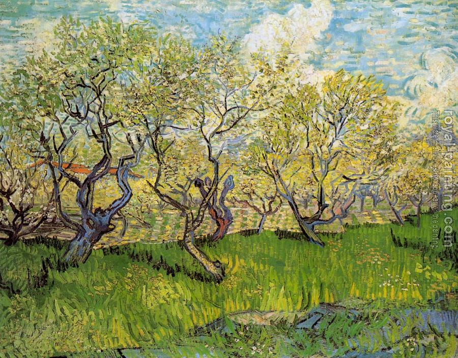 Vincent Van Gogh : Orchard in Blossom IV