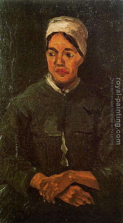 Vincent Van Gogh : Peasant Woman, Seated