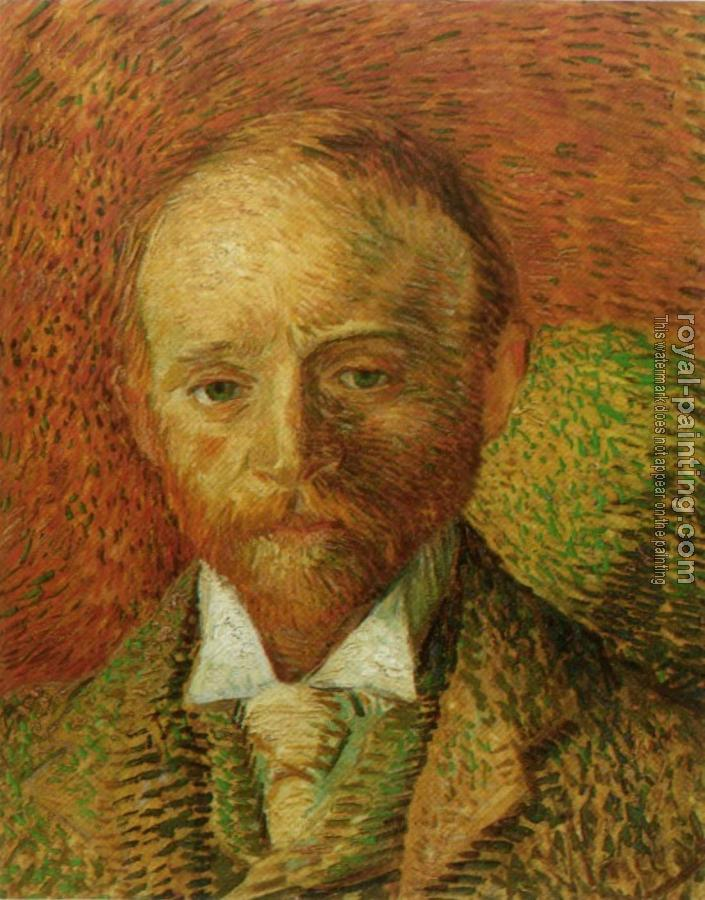 Vincent Van Gogh : Portrait of the Art Dealer Alexander Reid