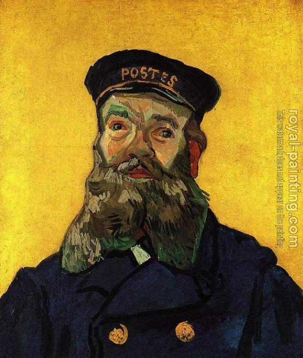 Vincent Van Gogh : Portrait of the Postman Joseph Roulin IV