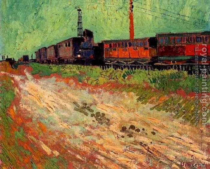 Vincent Van Gogh : Railway Carriages