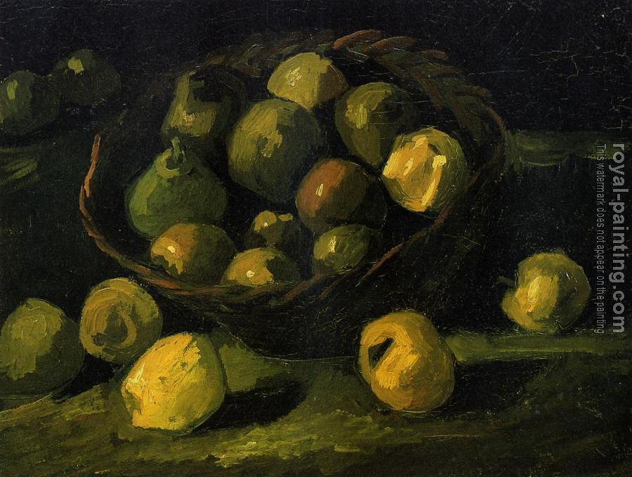 Still Life with Basket of Apples IV