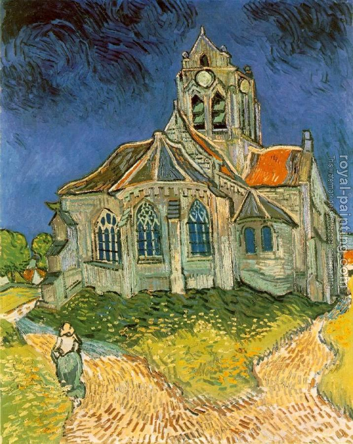 The Church at Auvers-sur-Oise II