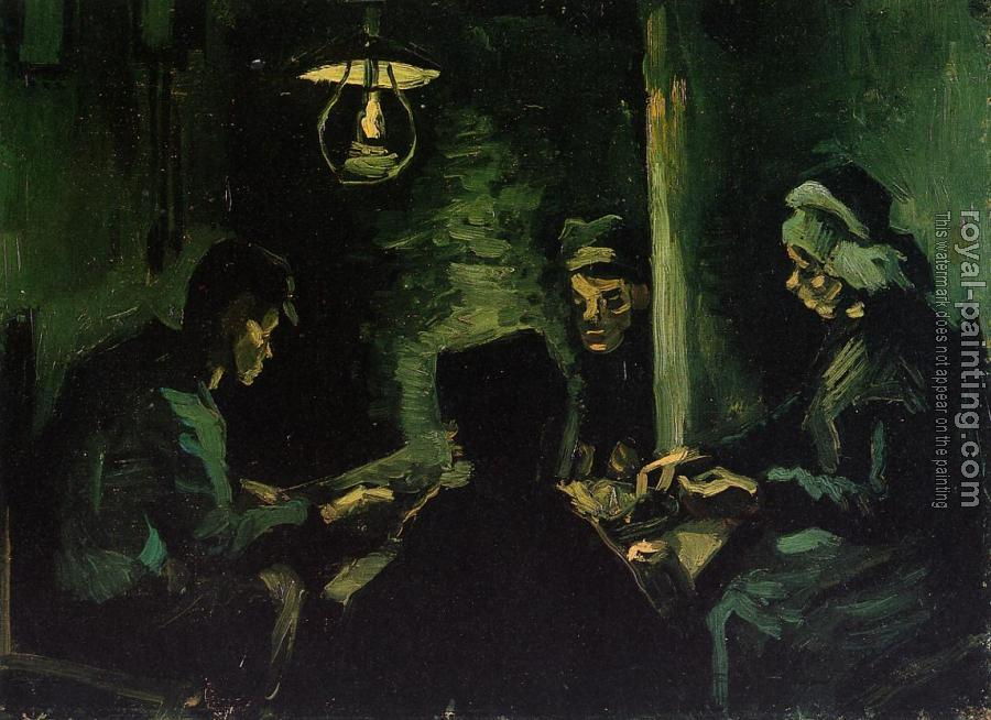 Vincent Van Gogh : The Potato Eaters, Study