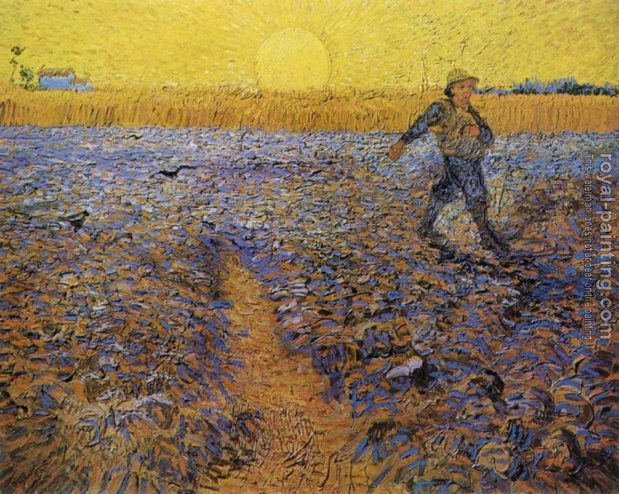 Vincent Van Gogh : The Sower II