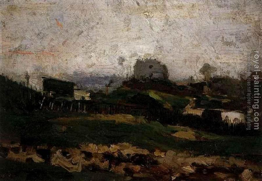 Vincent Van Gogh : View of Montmartre with Quarry