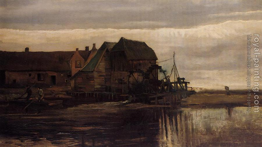Vincent Van Gogh : Watermill at Gennep