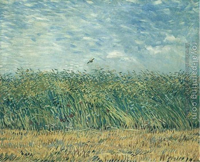 Vincent Van Gogh : Wheat Field with a Lark