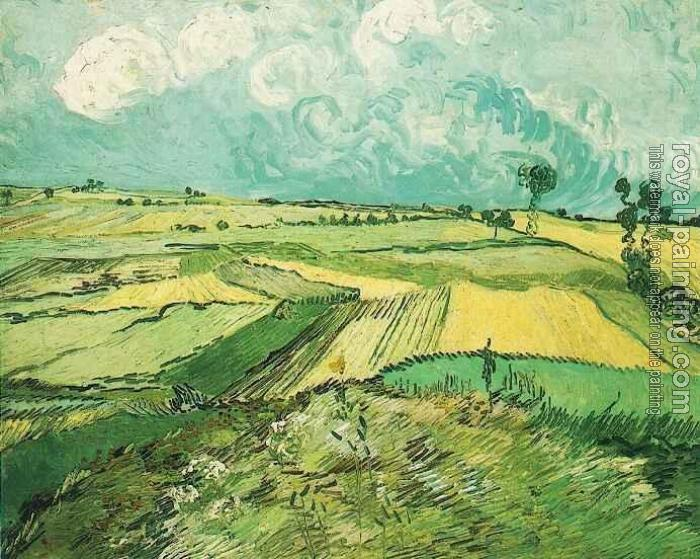 Vincent Van Gogh : Wheat Fields at Auvers Under Clouded Sky