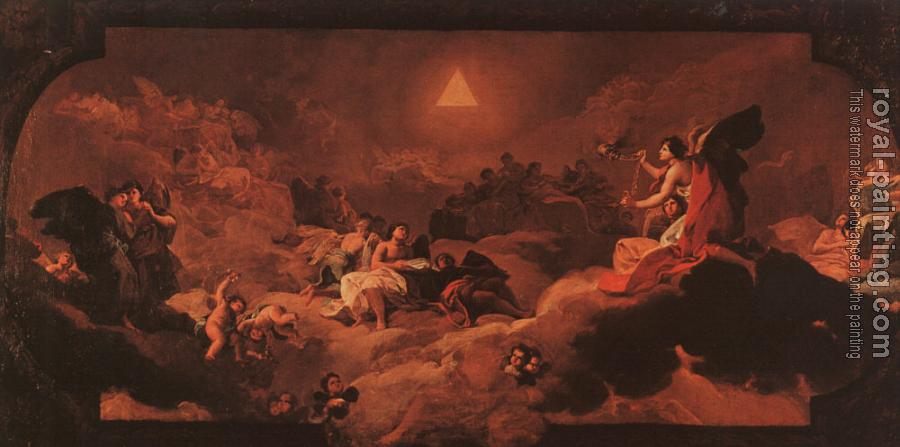 Francisco De Goya : The Adoration of the Name of The Lord