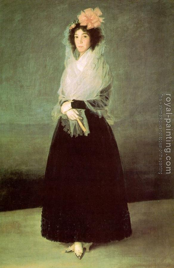 Francisco De Goya : The Countess del Carpio, Marquesa de la Solana