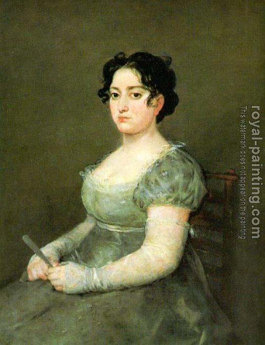 Francisco De Goya : The Woman with a Fan
