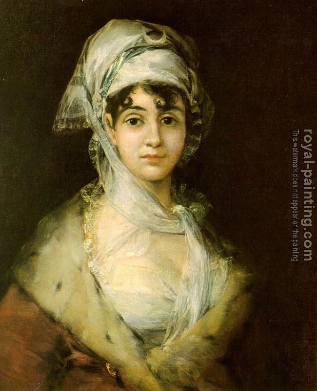 Francisco De Goya : Antonia Zarate