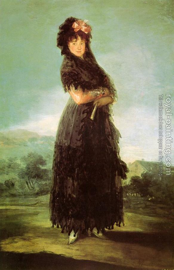 Francisco De Goya : Portrait of Mariana Waldstein II