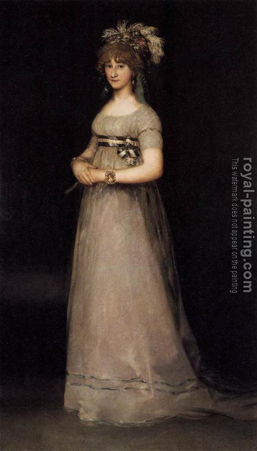 Francisco De Goya : POrtrait of the Countess of Chincon