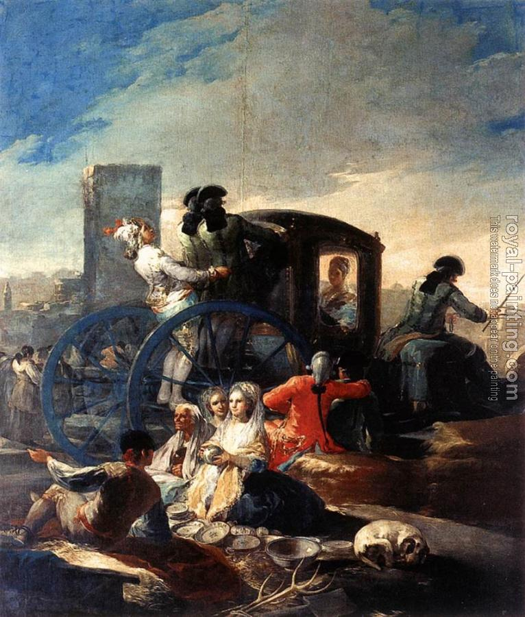 Francisco De Goya : The Crockery Vendor